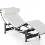 Le Corbusier LC4 en blanc