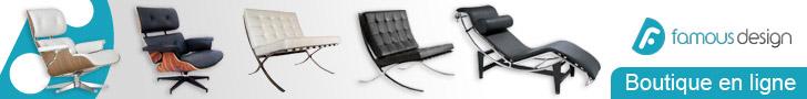 Copie de fauteuil design